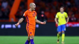 Arjen Robben Netherlands Sweden