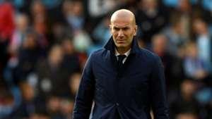 Zinedine  Zidane Real Madrid Celta LaLiga 17052017