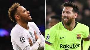 Neymar, Lionel Messi