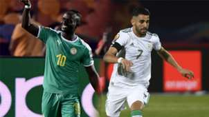 GFX Sadio Mane Ryiad Mahrez Senegal Algeria AFCON 2019