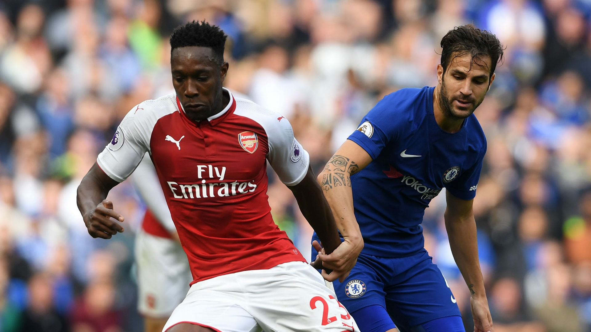 Danny Welbeck Arsenal Cesc Fabregas Chelsea 170917