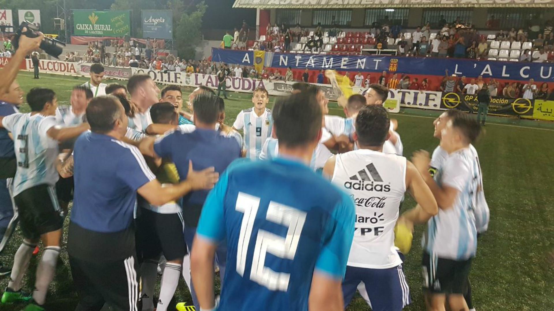 Argentina se metió en la final del torneo de LAlcudia