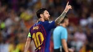 Messi Barca PSV Eindhoven 2018