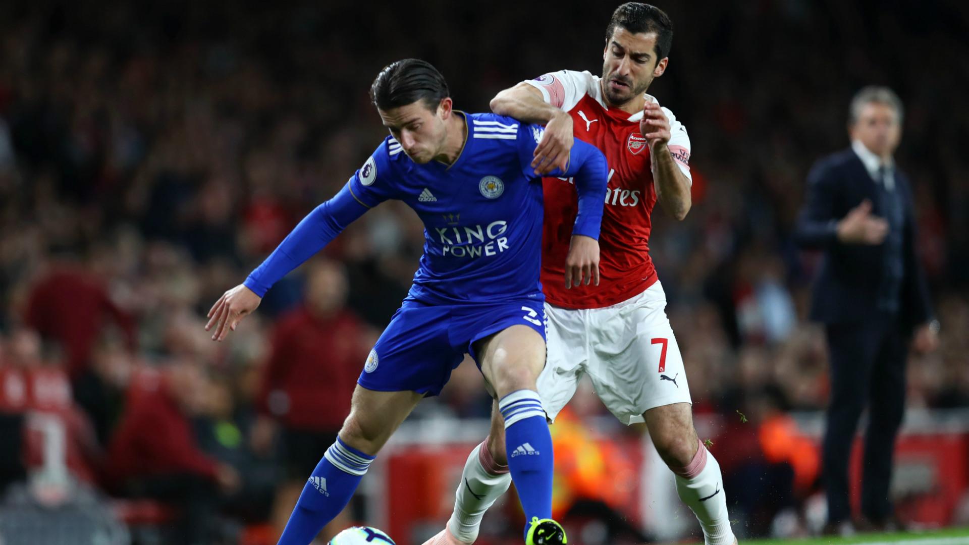 Arsenal Leicester City Henrikh Mkhitaryan 22102018
