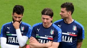 Italy training Antonio Candreva Riccardo Montolivo Thiago Motta 27052016