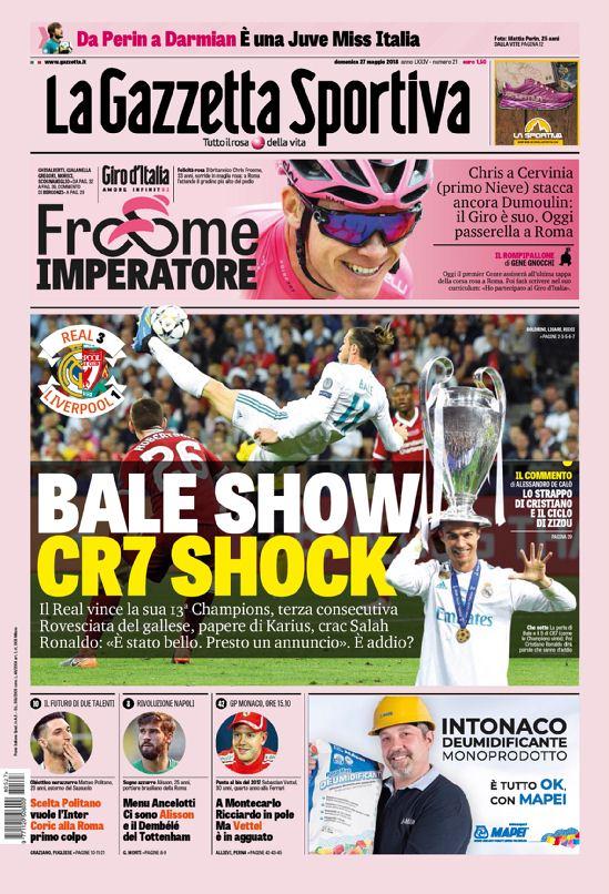 Gazzetta dello Sport 27/5