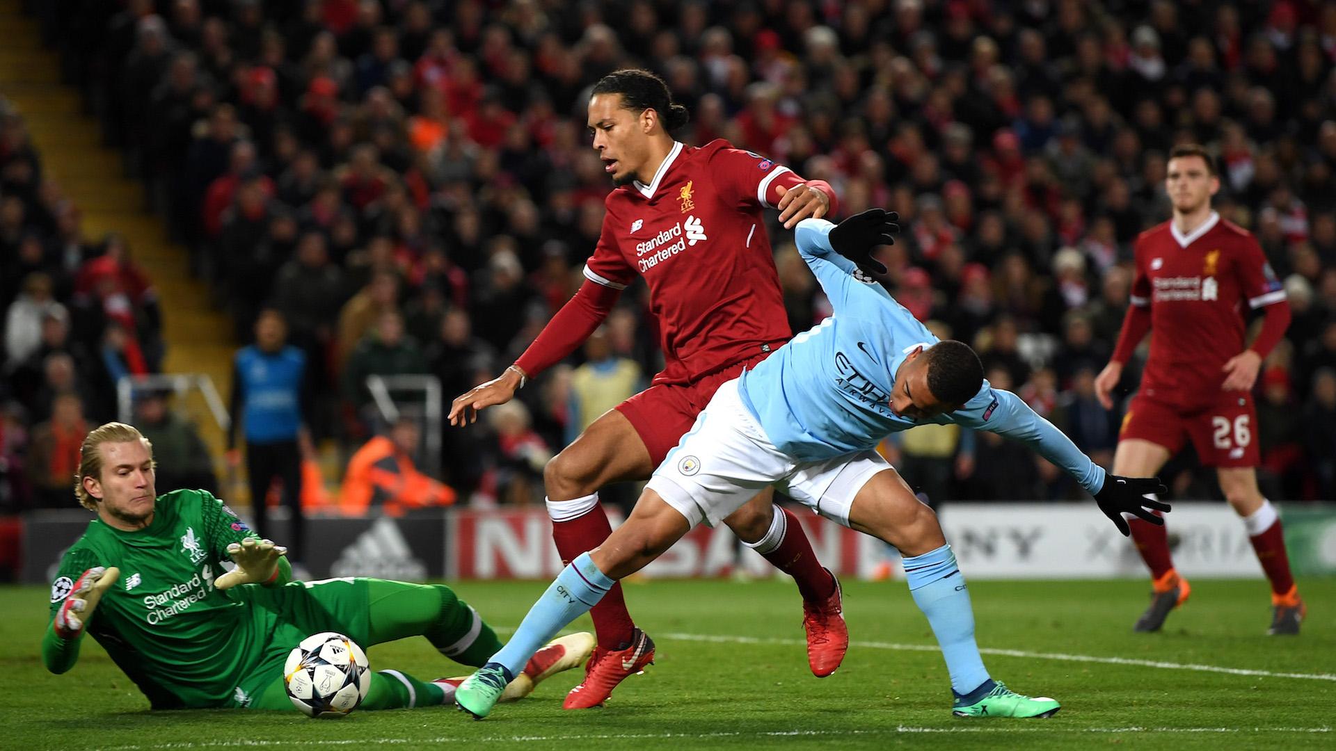 Virgil Van Dijk vs. Manchester City
