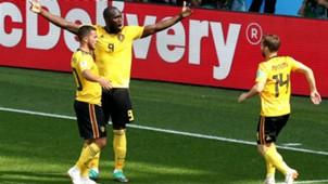 Hazard, Mertens, Lukaku