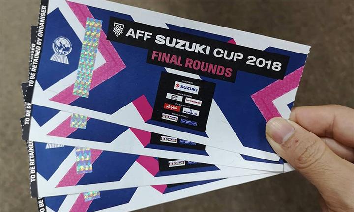 Vé AFF Cup 2018