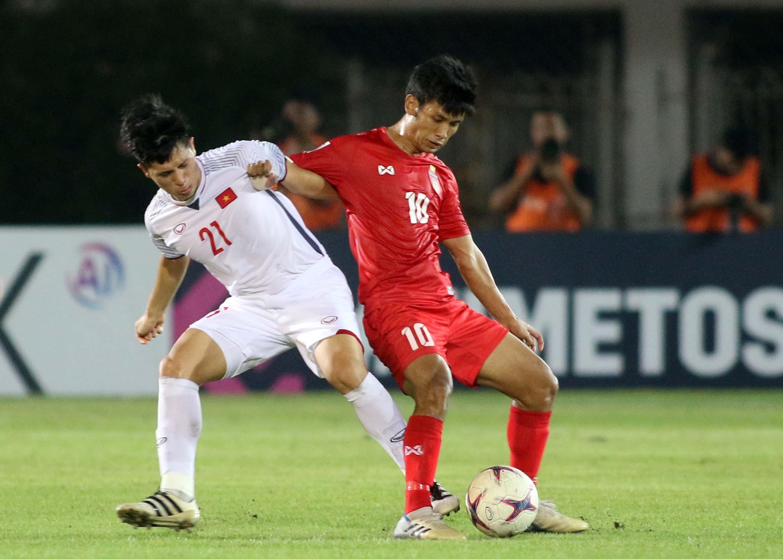 Đình Trọng - Myanmar vs Vietnam AFF Suzuki Cup 2018