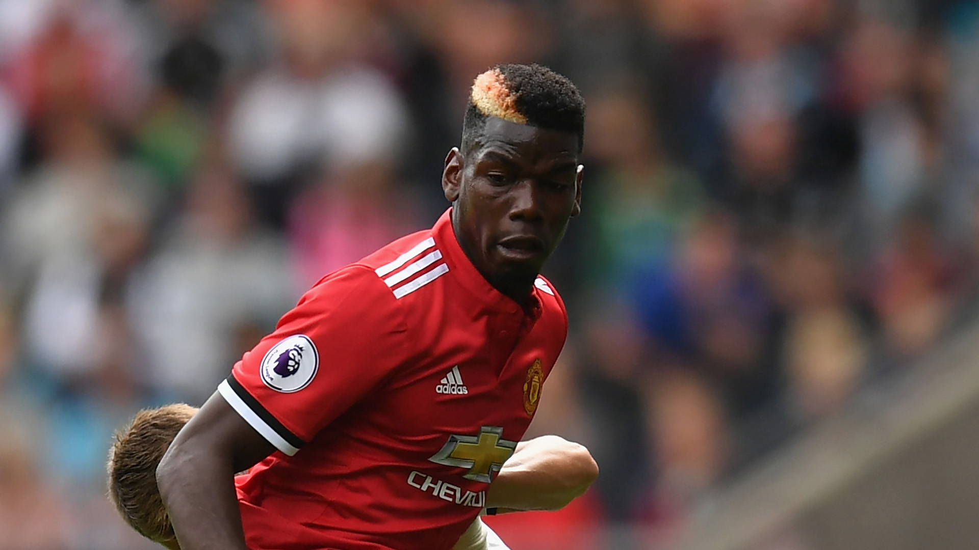 Paul Pogba Manchester United Swansea City