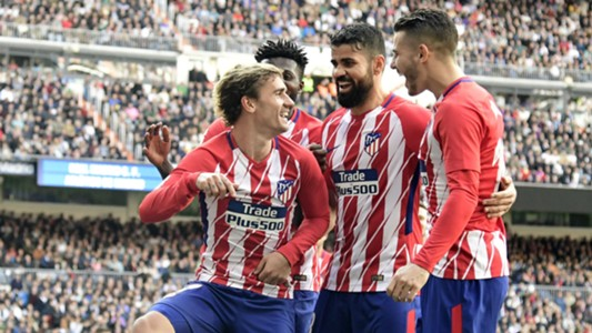 Atletico Madrid celebrate