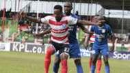 Aziz Okaka of AFC Leopards v Bandari