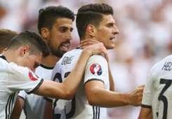 Mario Gomez Germany v Slovakia