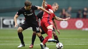 Bastian Schweinsteiger Patrick Mullins Chicago Fire D.C. United