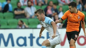 Connor Chapman Melbourne City v Brisbane Roar A-League 03122016