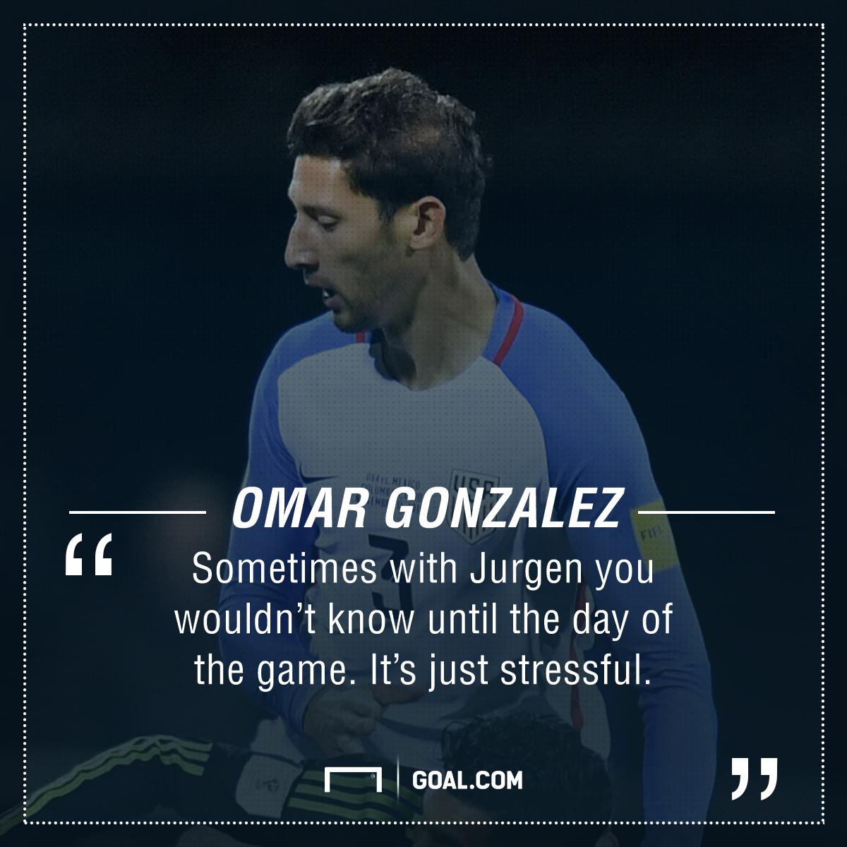 Omar Gonzalez GFX
