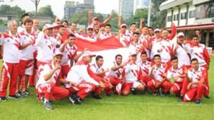 Timnas Indonesia Setelah Upacara Bendera