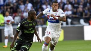 Memphis Depay Lyon Guingamp Ligue 1 10092017