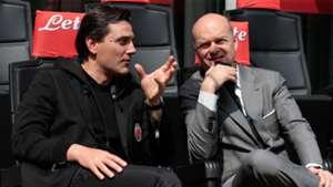 Montella Fassone Milan Serie A