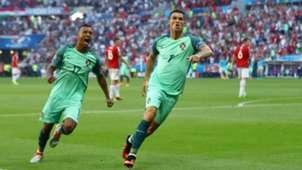 Cristiano Ronaldo, Nani, Hungary - Portugal, Euro 2016