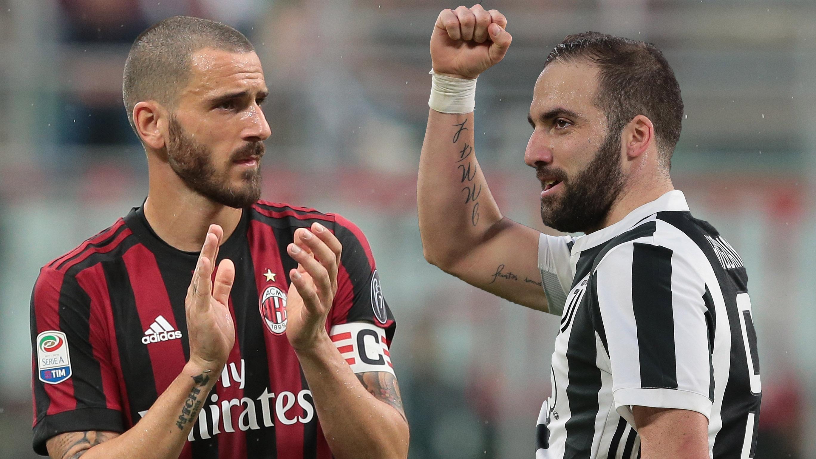 Maillot Domicile AC Milan GONZALO HIGUAIN