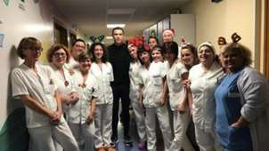 Cristiano Ronaldo hospital
