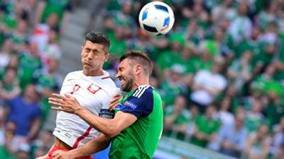 Robert Lewandowski Poland Northern Ireland Euro 2016
