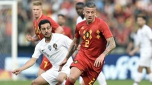Toby Alderweireld Bernardo Silva Portugal Belgium international friendly 2018