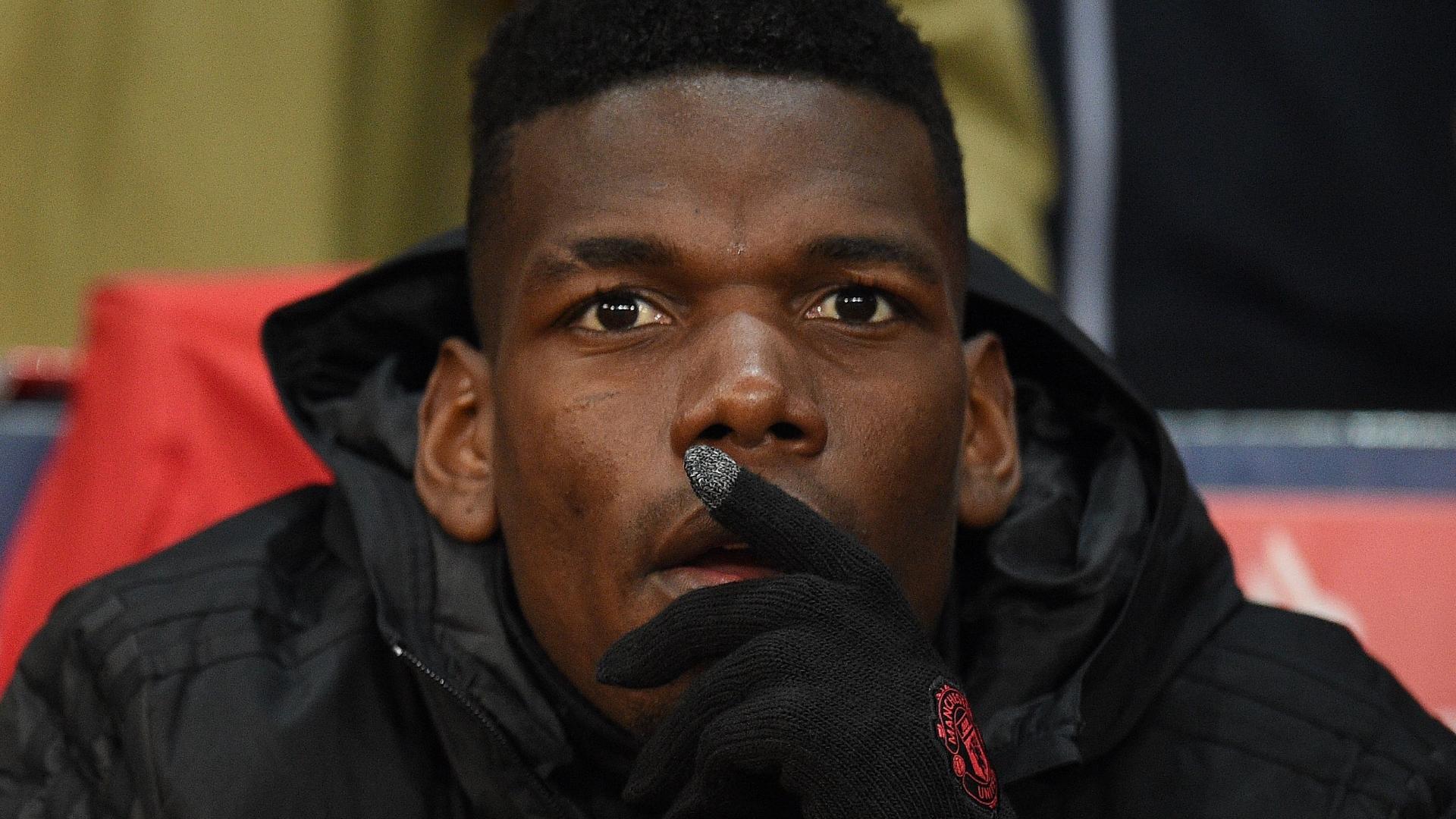 Paul Pogba, Man Utd bench