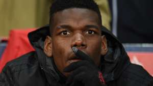 Paul Pogba, Man Utd bench