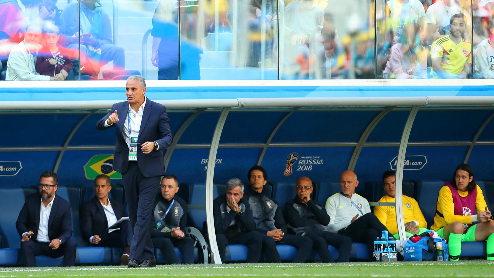 Tite Brazil vs Costa Rica World Cup 2018