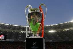 champions league trophy