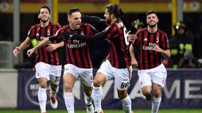 Giacomo Bonaventura Milan Sampdoria