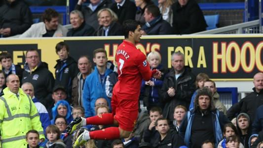 Luis Suarez Liverpool Everton