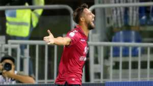 Leonardo Pavoletti Cagliari Sassuolo Serie A 08262018