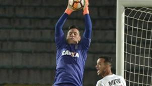 Diego Alves Independiente Santa Fe Flamengo Copa Libertadores 25042018