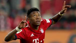David Alaba Bayern Munich 2018-19