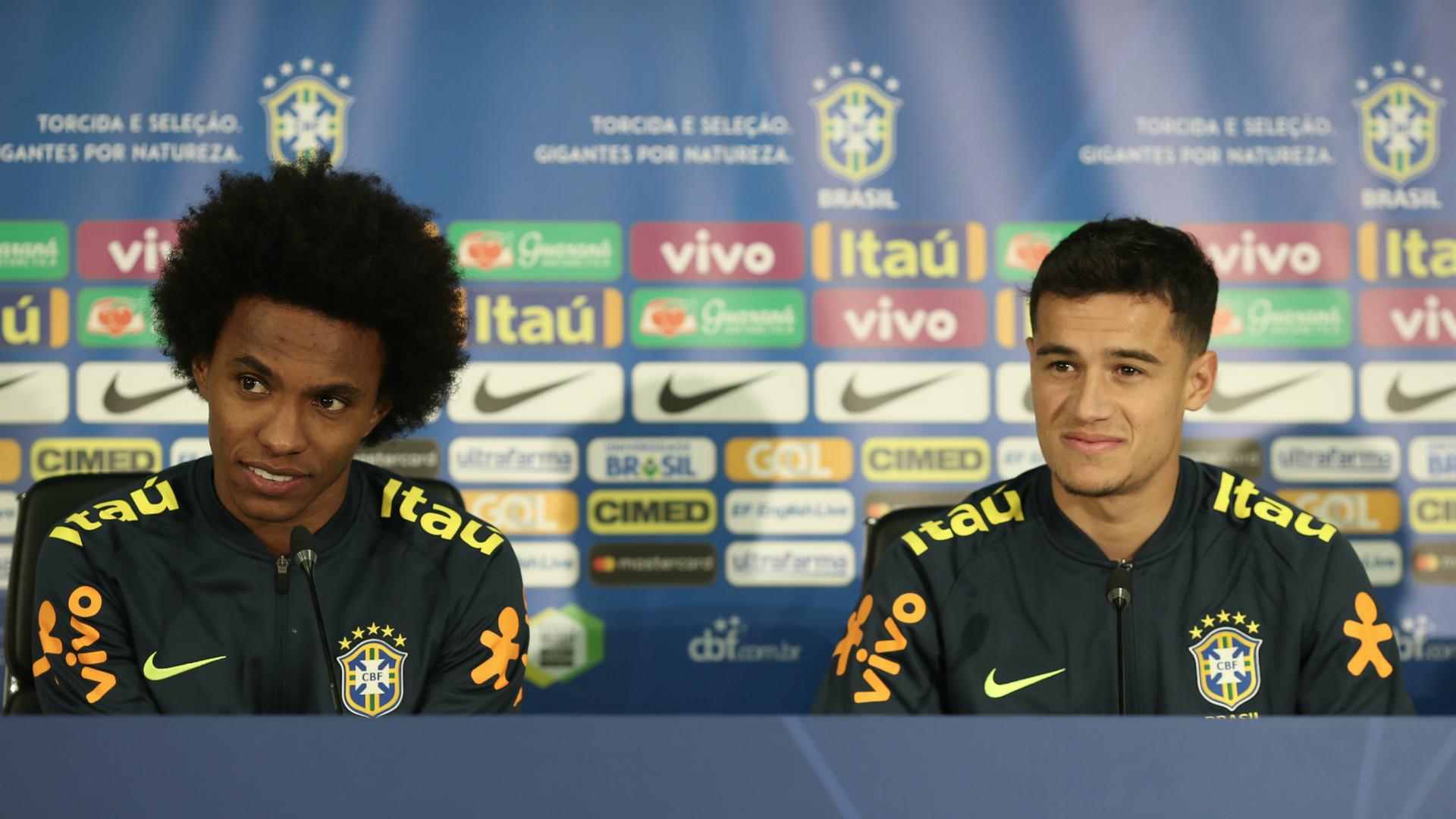 Willian Philippe Coutinho Brazil 21032018
