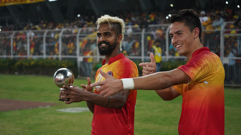 Jobby Justin Jaime Santos Mohun Bagan East Bengal Kolkata Derby