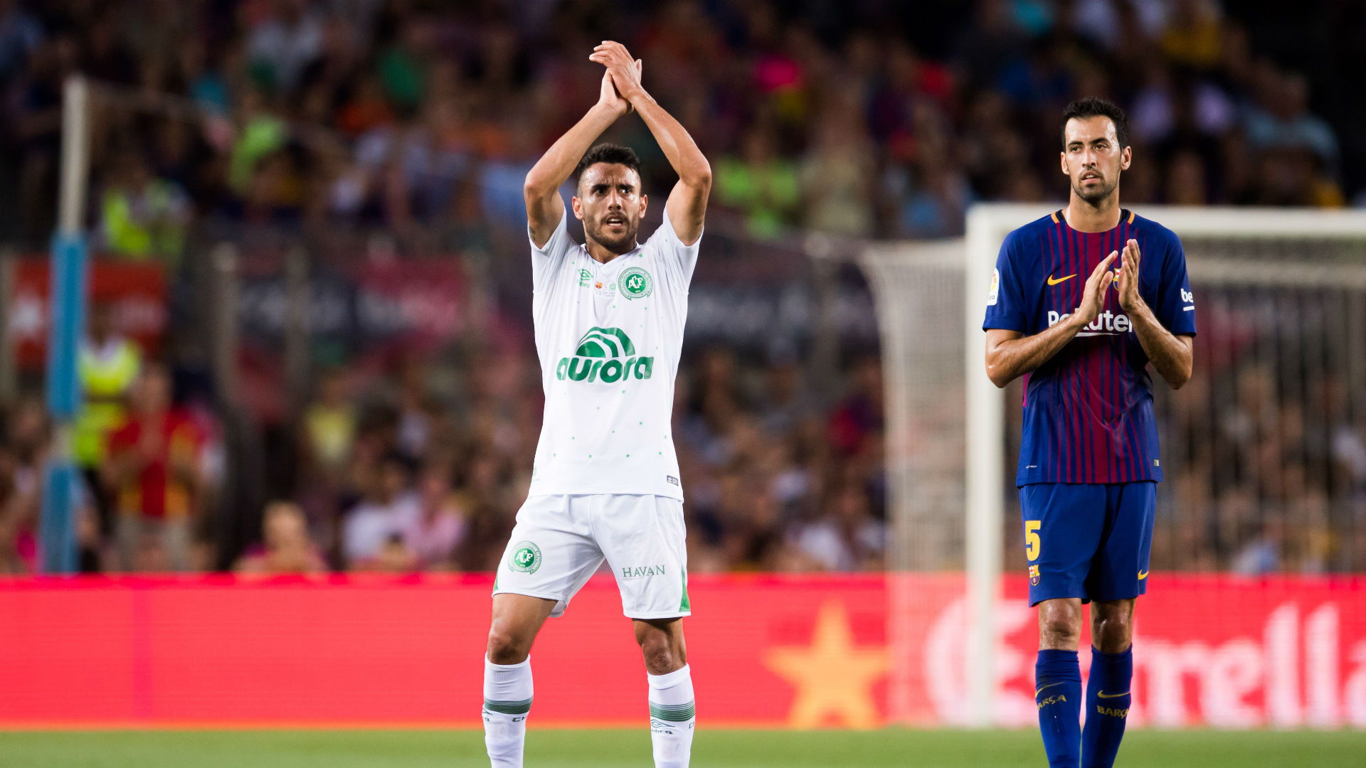 Barcelona - Chapecoense - Alan Ruschel - Camp Nou - Friendly