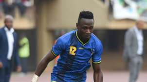 Simon Msuva of Tanzania in action during the 2019 Afcon Qualifiers