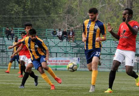 Hindustan FC and Real Kashmir have upper hand