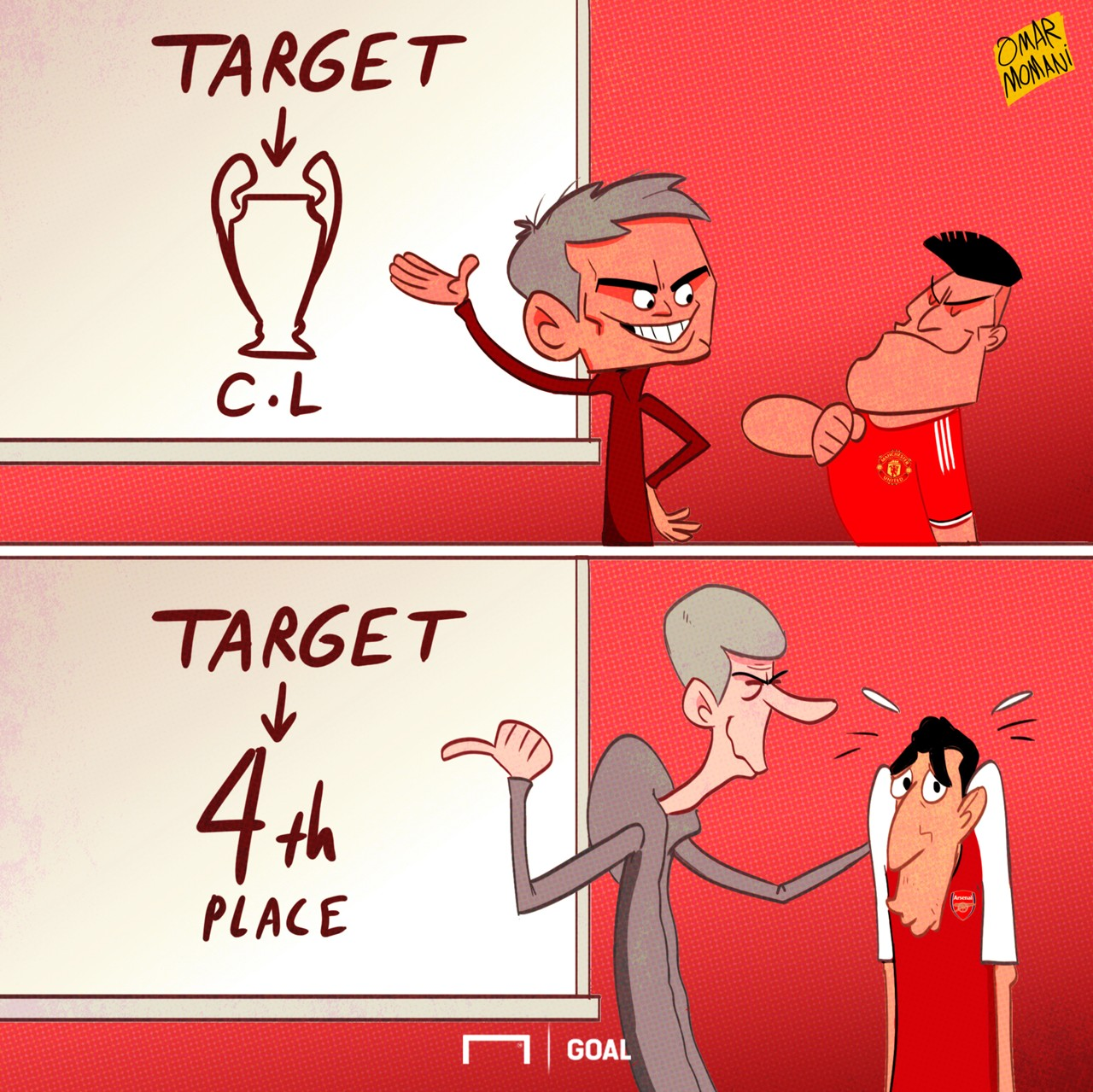 CARTOON Alexis & Mkhitaryan's missions