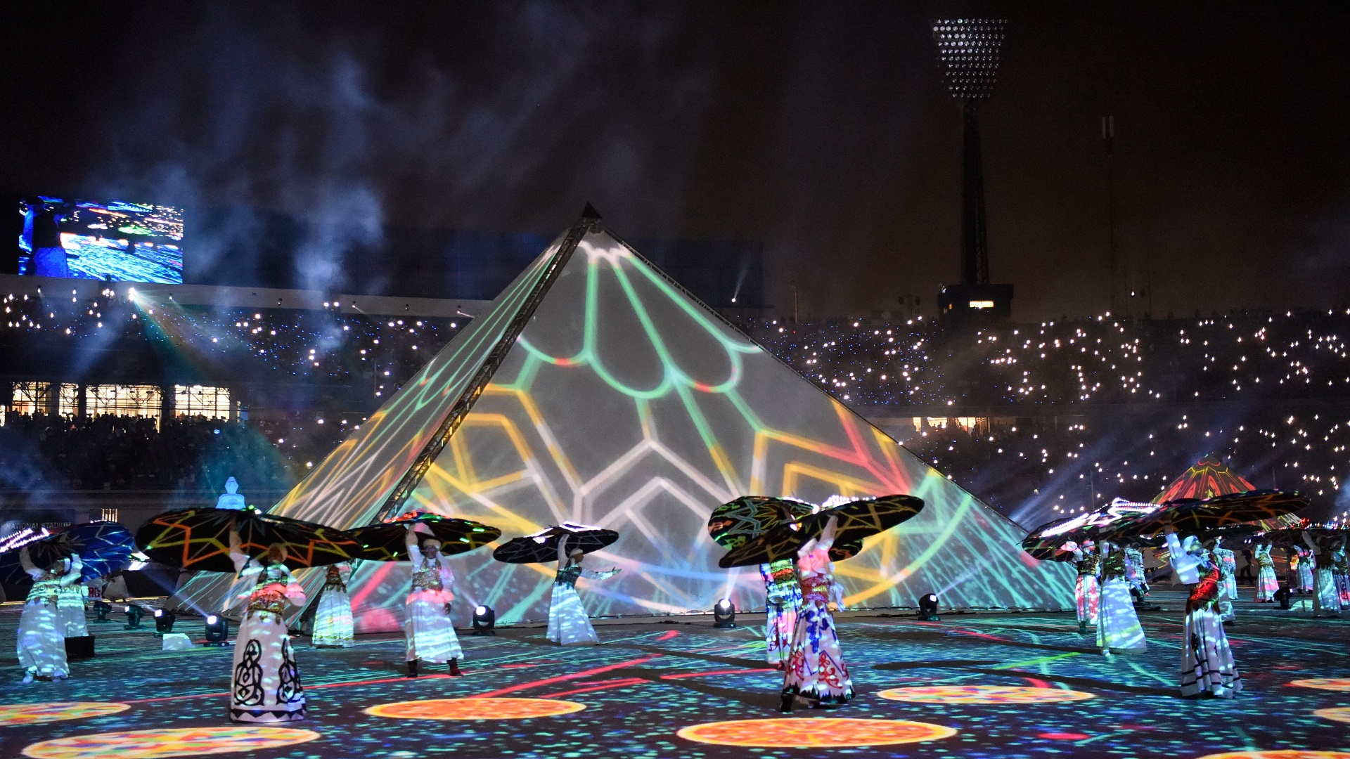 Performances at the opening ceremony of the 2019 Africa Cup of Nations