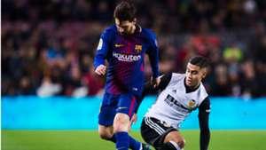 Lionel Messi Andreas Pereira Barcelona Valencia