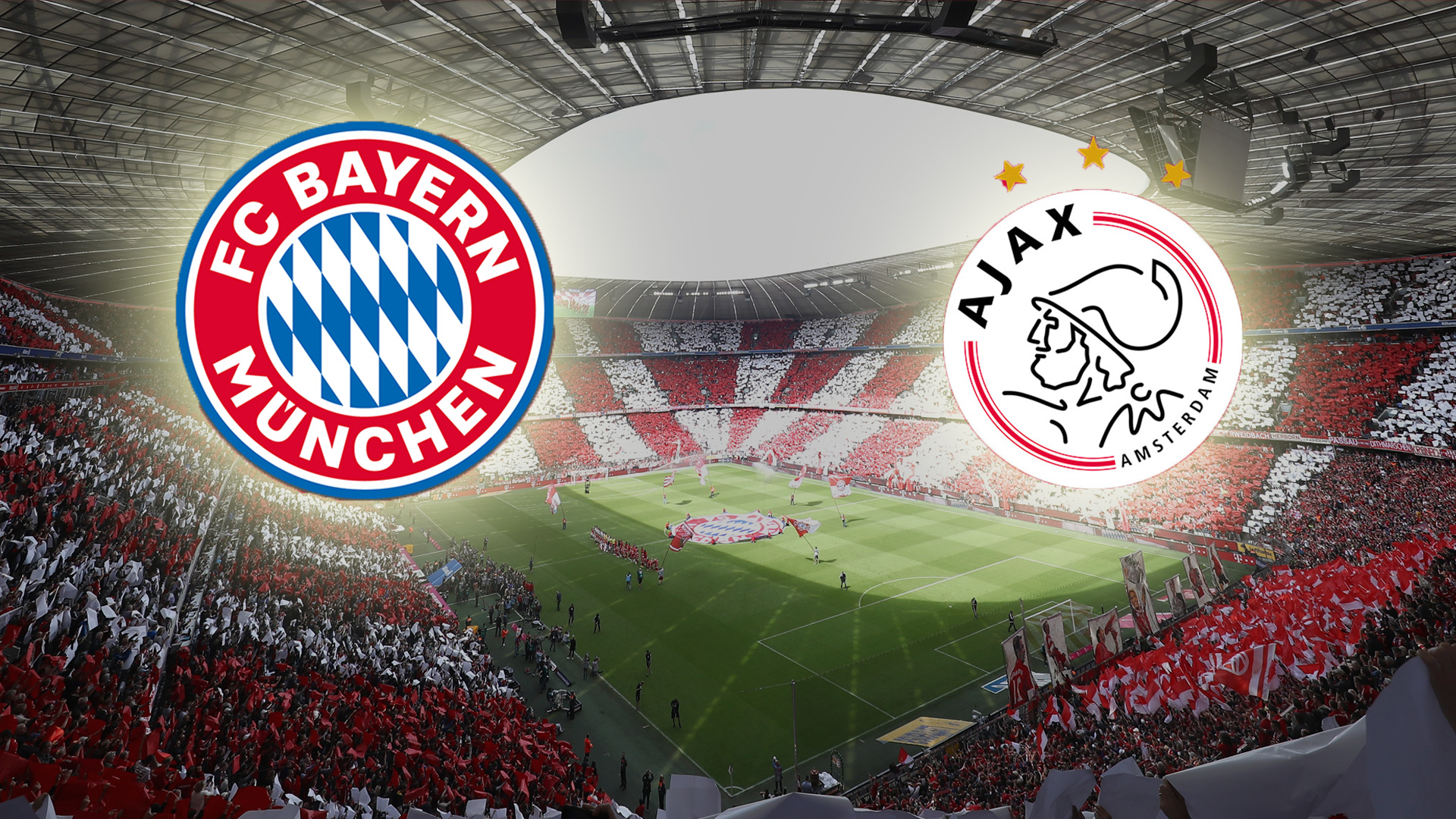 FC Bayern Ajax Amsterdam LIVE TICKER Champions League