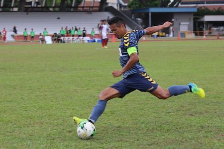 Albirex Niigata FC (S) captain Shuto Inaba