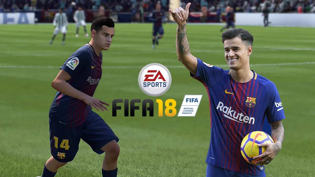 Philippe Coutinho For Barcelona On FIFA 18