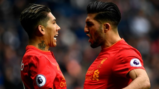 Roberto Firmino Emre Can Liverpool Premier League